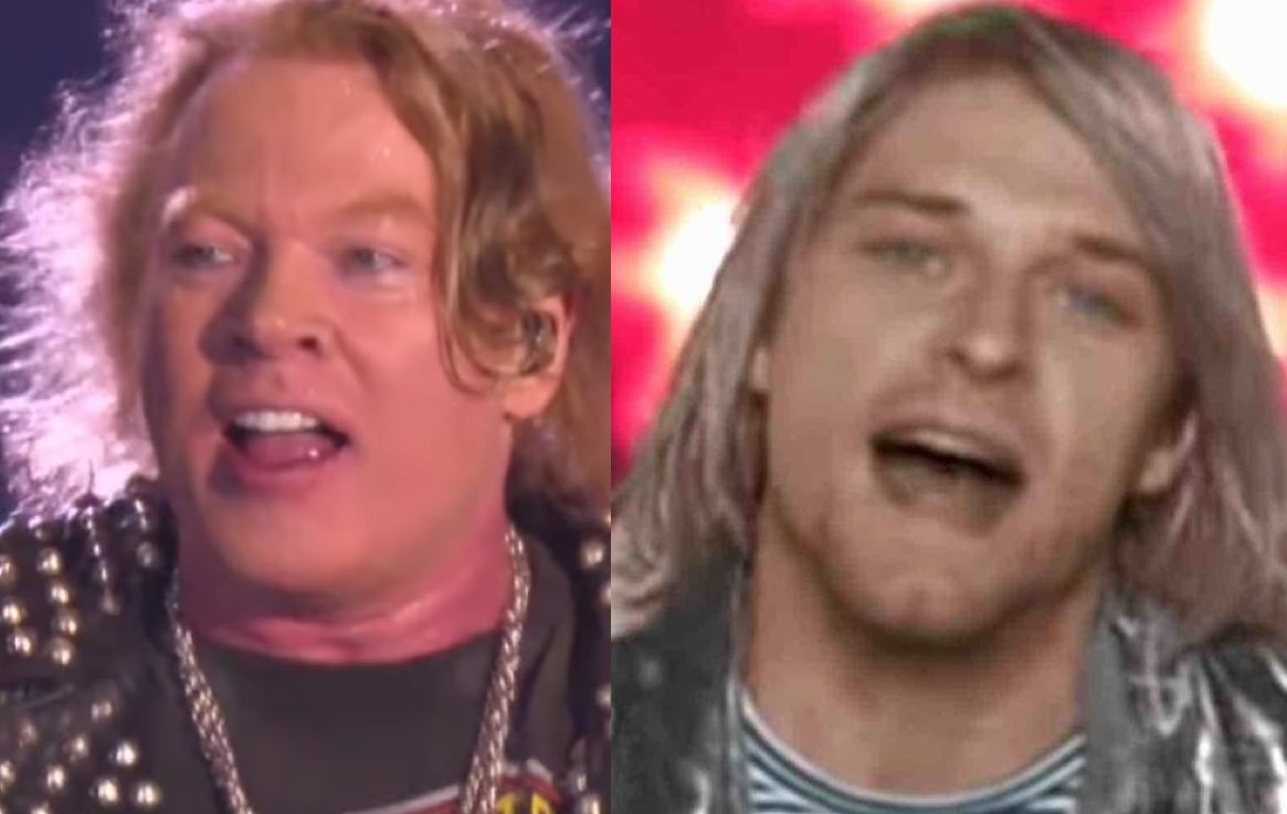Axl Rose Grunge Rant Revealed: 'I Only Like You Guys And