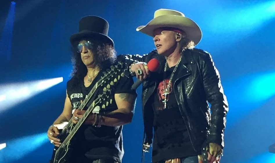 Slash Unloads On Axl Rose Secret After Sad Leaked Photo