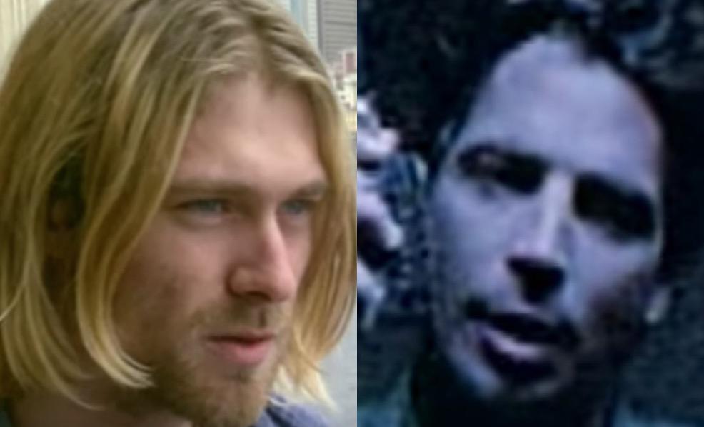 Kurt Cobain Has Bizarre Reaction To Chris Cornell S Hair In Unheard Interview Alternativenation Net