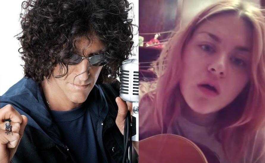 Howard stern reveals bizarre photo of kurt cobains daughter in howard stern reveals bizarre photo of kurt cobains daughter in studio freerunsca Images