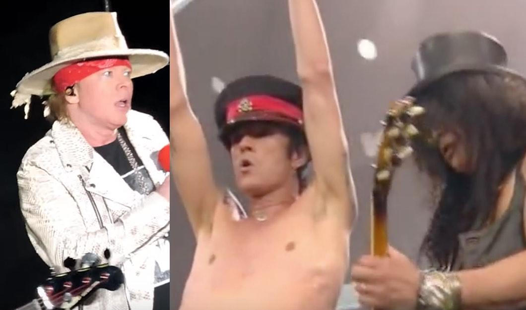 Guns N' Roses Covering Velvet Revolver's