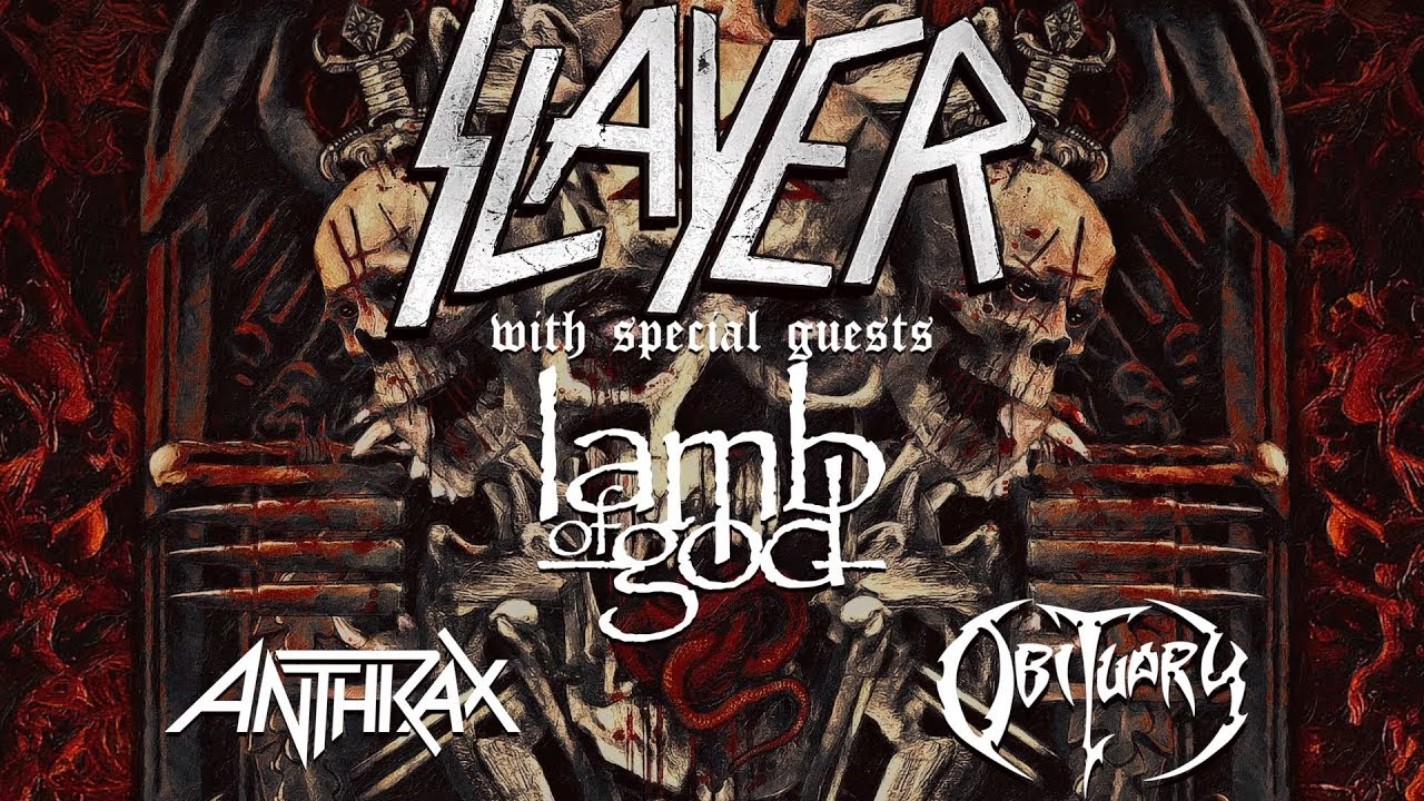 Slayer At The PNC Bank Art Center In Homdel New Jersey