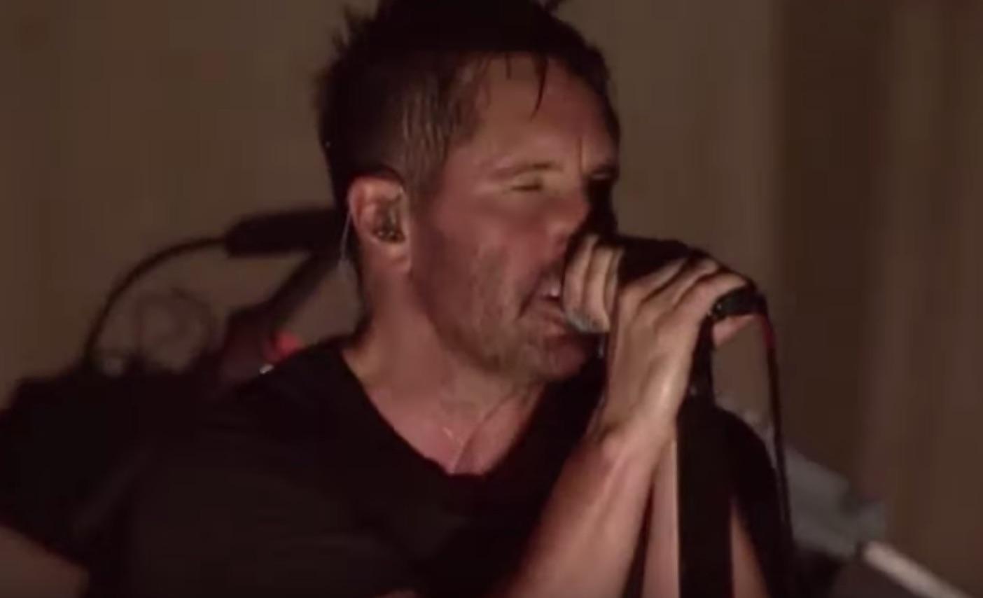 Watch Nine Inch Nails Debut New Song Live - AlternativeNation.net