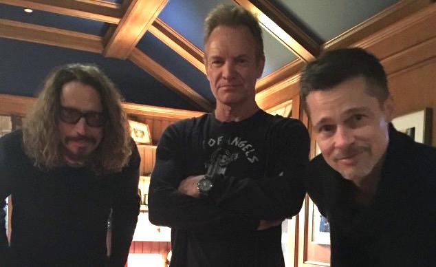 Brad Pitt S Major Role At Chris Cornell Tribute Show