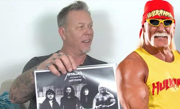 Metallica's James Hetfield Looks Like Hulk Hogan In New