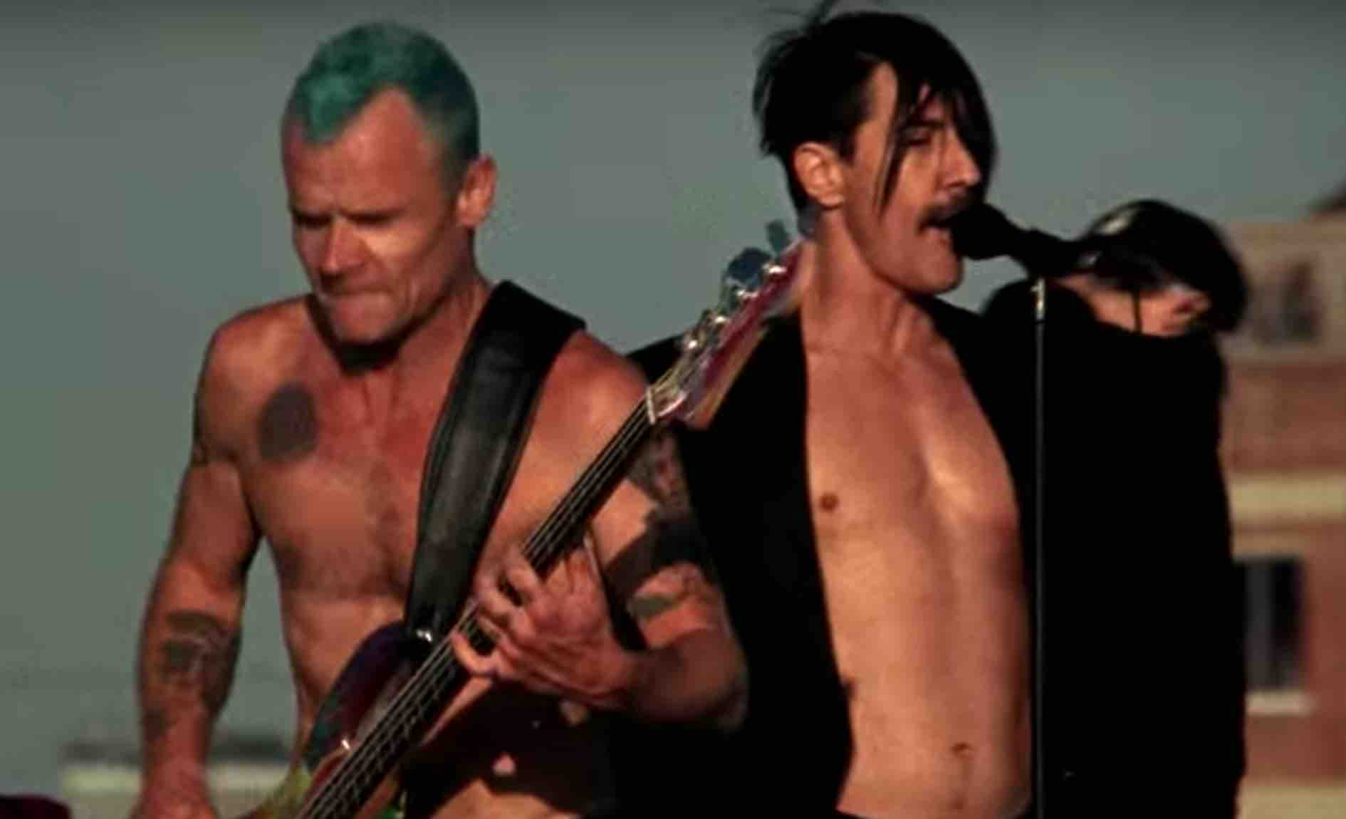 83a5a5489fc5 Red Hot Chili Peppers have announced that they are making a documentary  movie about their recent concert in Egypt