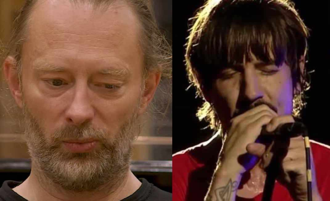 Red Hot Chili Peppers' Anthony Kiedis Reacts To Radiohead Refusing To Play Hits