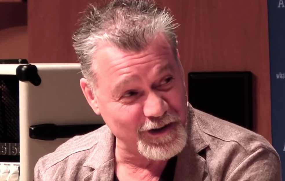 Eddie Van Halen Criticized By Big Name For Bizarre New ...