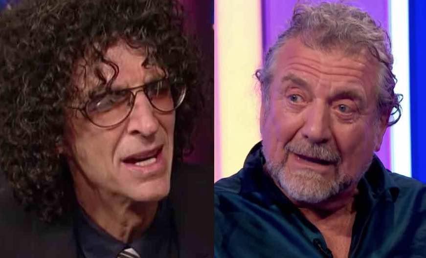 Howard Stern Makes Disturbing Led Zeppelin Remark
