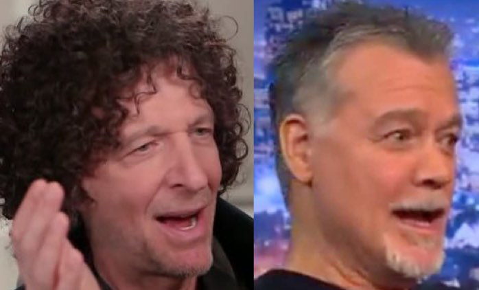 Howard Stern Unloads On Eddie Van Halen Death Bed Rumor Alternativenation Net