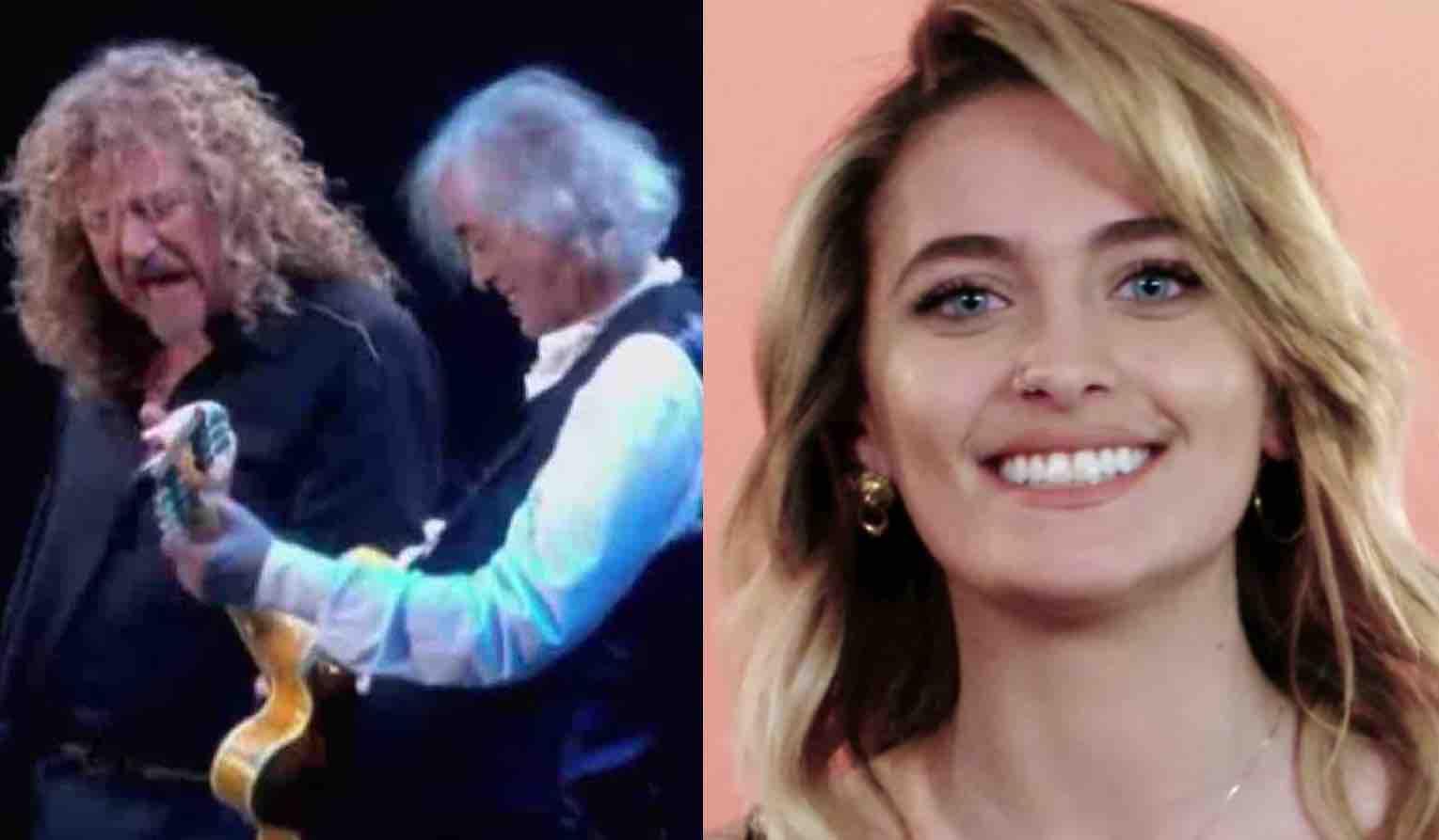 Michael Jackson Daughter Leaks Gross Robert Plant Photo
